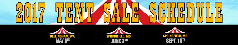 2017 Tent Sales
