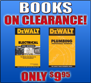 DeWalt Book Clearance