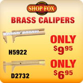 Brass Calipers