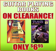 Luthier Book Clearance