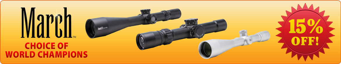 March Optics 15% Off