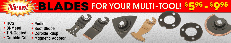 Multi-tool blade accessories