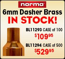 6mm Dasher Brass in Stock