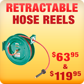 Retractable Hose Reels