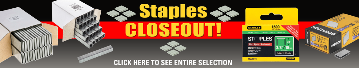 Staples Closeout