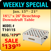 This Weeks Featured Special - T10115
