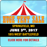 MO1 Tent Sale