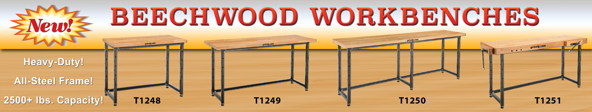 Beechwood Workbenches