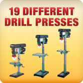 18 Different Drill Presses