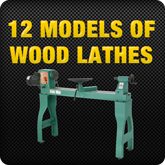 12 Models of Wood Lathes