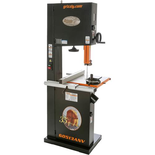 17 2 hp bandsaw anniversary edition grizzly industrial rh grizzly com Band Saw Parts Identification Delta Band Saw Manual