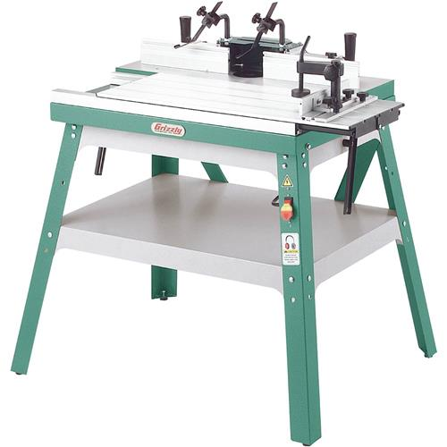 Router table grizzly industrial greentooth Image collections