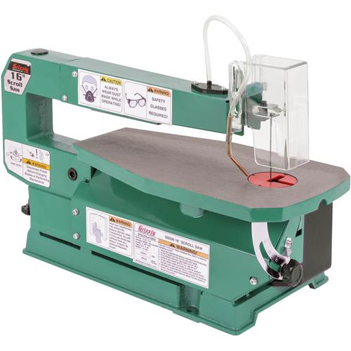 16 variable speed scroll saw grizzly industrial greentooth Images
