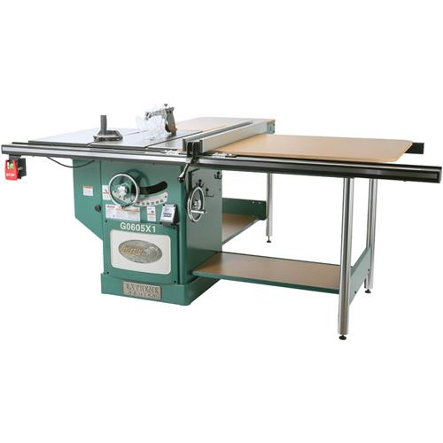 12 extreme table saw 5hp single phase grizzly industrial greentooth Choice Image