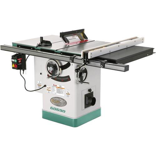 10 3hp 220v cabinet table saw with riving knife grizzly industrial greentooth Choice Image