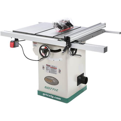 10 hybrid table saw with t shaped fence grizzly industrial greentooth Choice Image