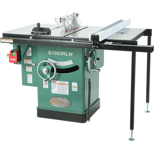 10 3 hp 240v cabinet left tilting table saw grizzly industrial greentooth Images