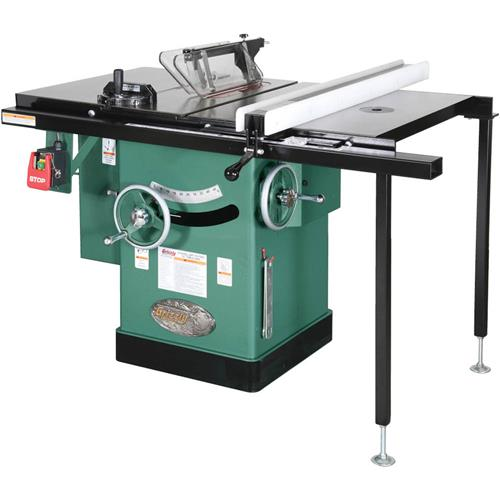 10 5 hp 240v cabinet left tilting table saw grizzly industrial keyboard keysfo Image collections