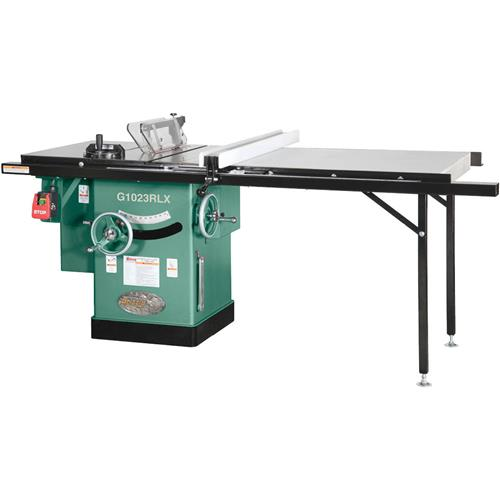 10 3 hp 240v cabinet left tilting table saw with extension table 10 3 hp 240v cabinet left tilting table saw with extension table grizzly industrial greentooth Images