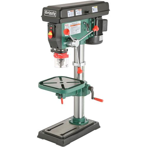 12 speed heavy duty bench top drill press grizzly industrial rh grizzly com