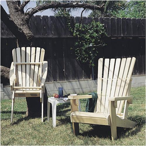 Folding Adirondack Chair Plans   Grizzly Industrial