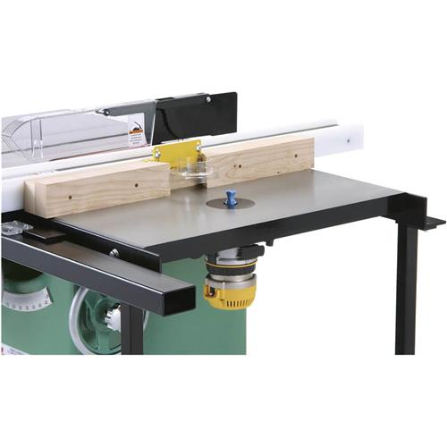 18 x 27 router extension table for table saw grizzly industrial greentooth Gallery