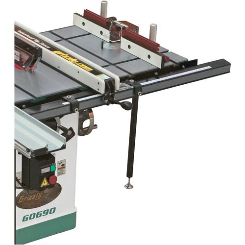 20 x 27 router extension table for table saw grizzly industrial greentooth