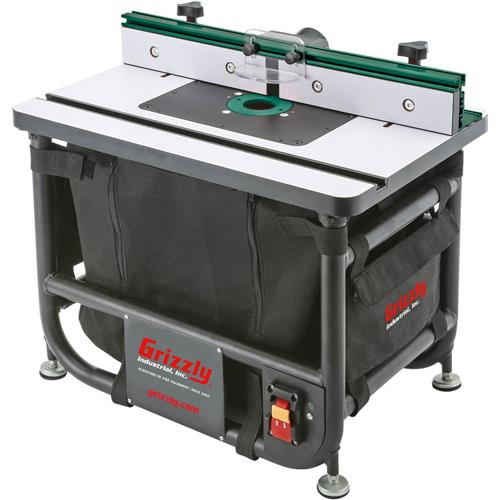 Benchtop series router table grizzly industrial greentooth Choice Image